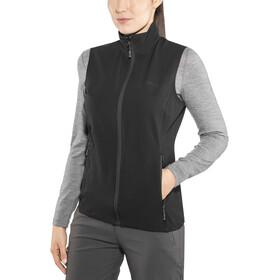 Bergans W's Ramberg Softshell Vest Black/Solid Charcoal